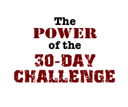 Power of 30 Day Challenge